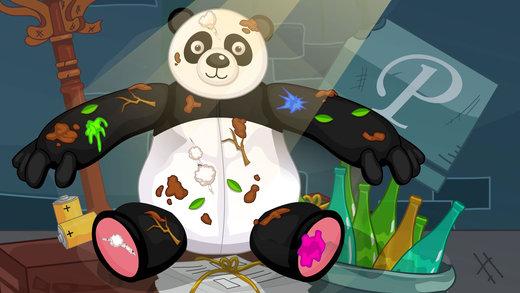 熊猫布娃娃-修理打扮洋娃娃截图3