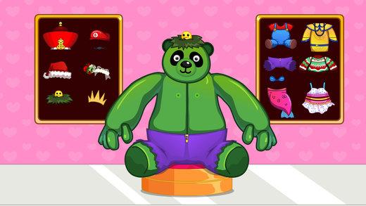 熊猫布娃娃-修理打扮洋娃娃截图5