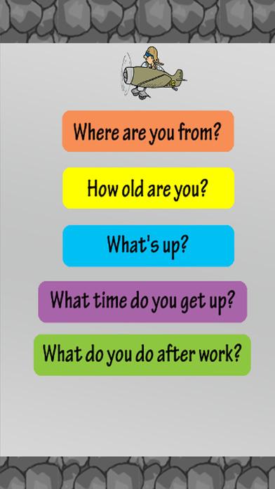 学习英语免费::听说谈话轻松英语为孩子和初学者截图2