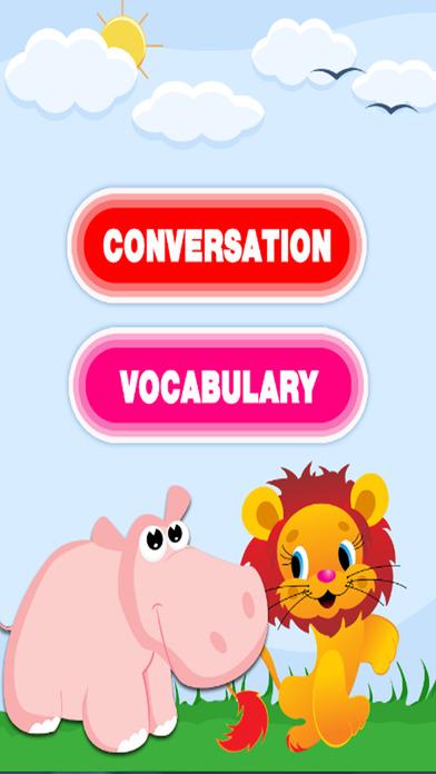 学习英语词汇和对话截图2