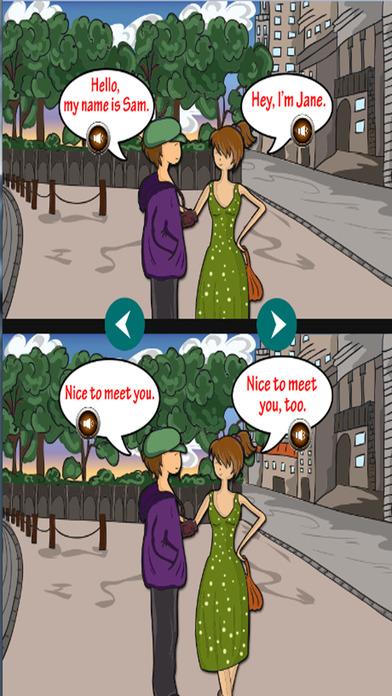 学习英语词汇和对话截图3