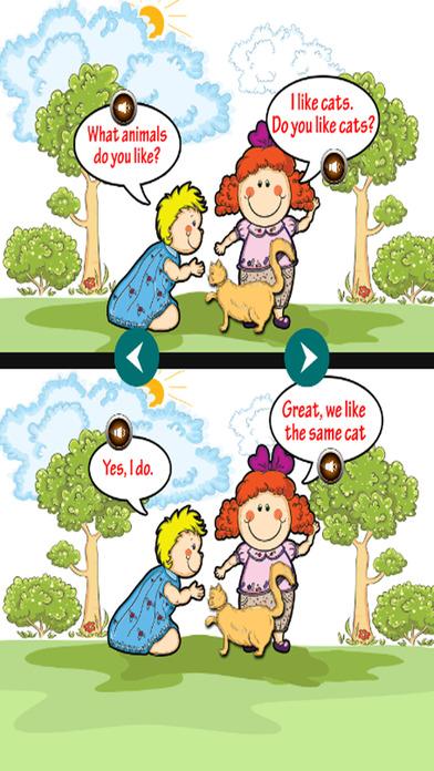 学习英语词汇和对话截图4