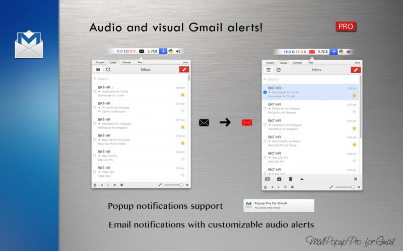 MailPopup Pro for Gmail截图2
