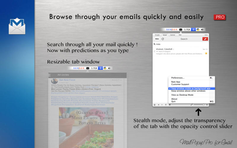 MailPopup Pro for Gmail截图4