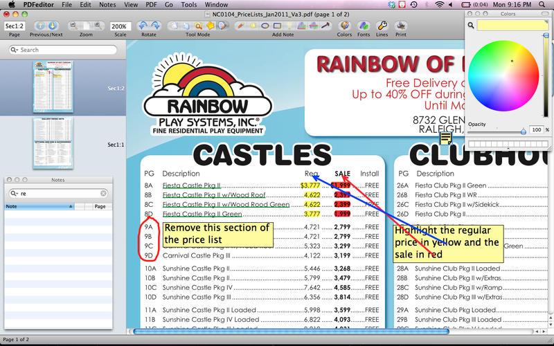 PDF编辑器便携式电子文件和签名 - 编辑突出显示截图1