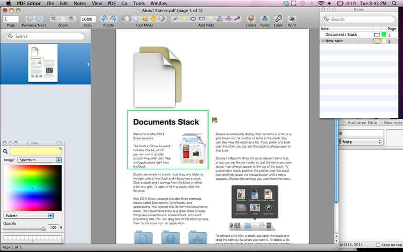 PDF编辑器便携式电子文件和签名 - 编辑突出显示截图2