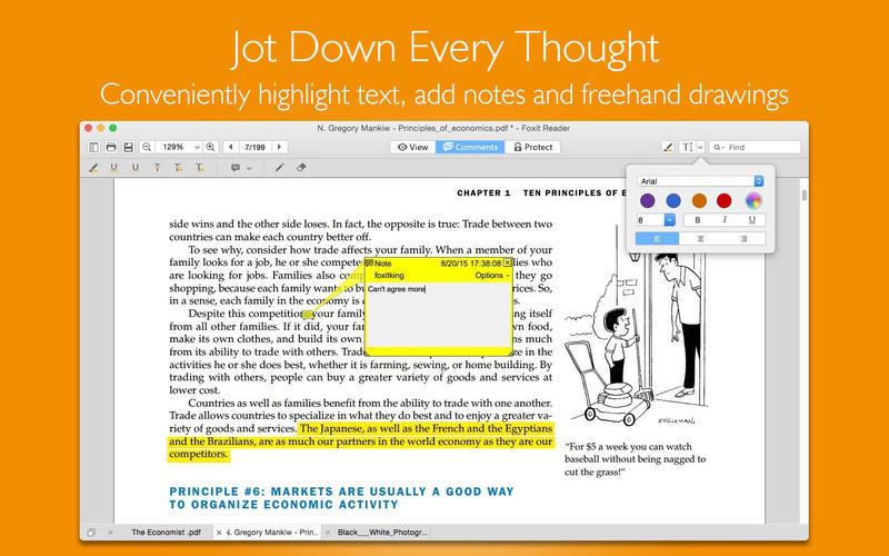 福昕PDF阅读器 - PDF 注释、编辑截图4
