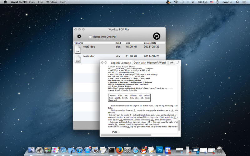 Word to PDF Plus-word转换pdf