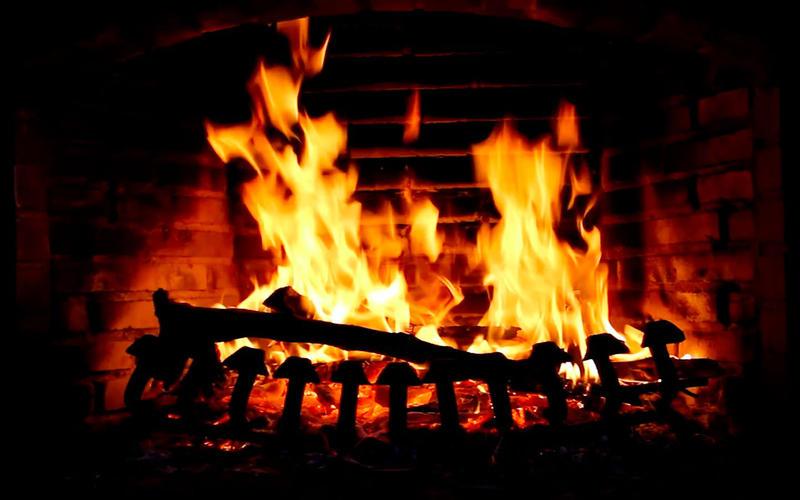 壁炉 HD: 浪漫屏保截图4