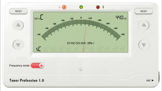 乐器调音辅助截图2