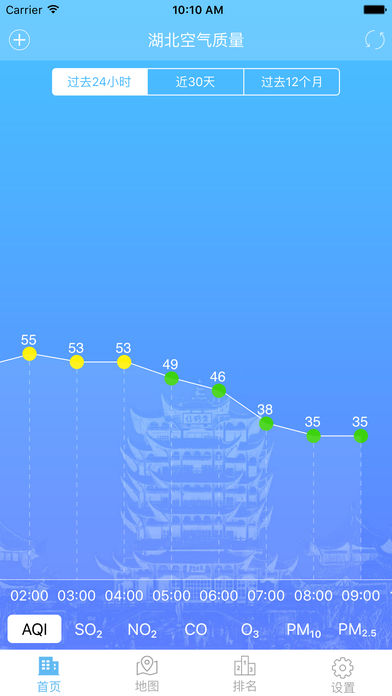湖北空气质量截图2