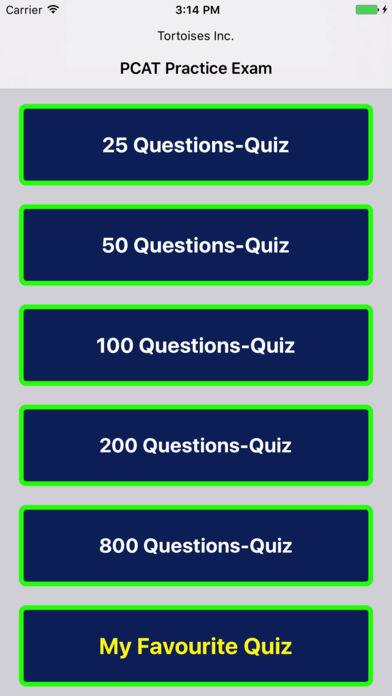 PCAT考试考试截图1