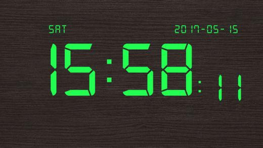 数字时钟截图3