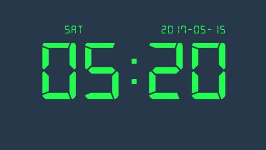 数字时钟截图4