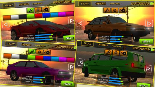 疯狂赛车游戏截图1