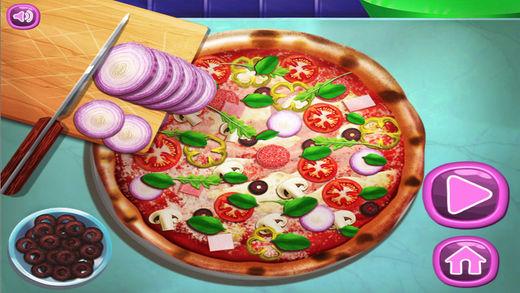 披萨料理游戏截图1