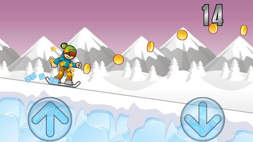 冰山上的滑雪冒险截图2