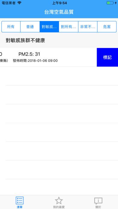 台湾空气品质截图2
