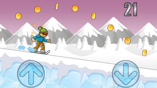 冰山滑雪男孩截图2