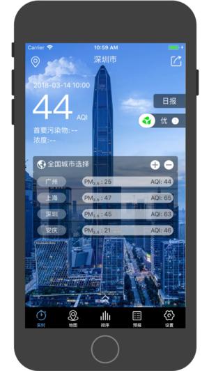 深圳空气质量截图1