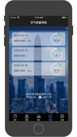 深圳空气质量截图4