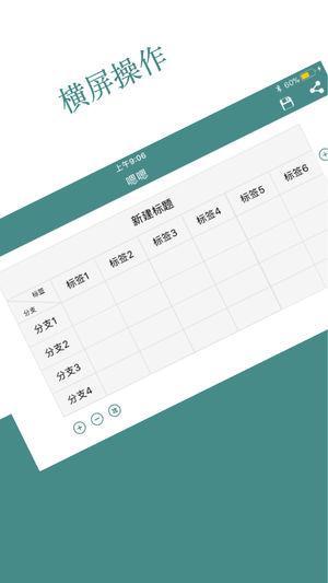 表格制作器截图5