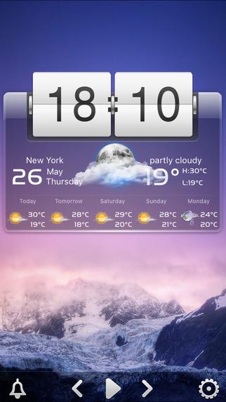 桌面天气截图1