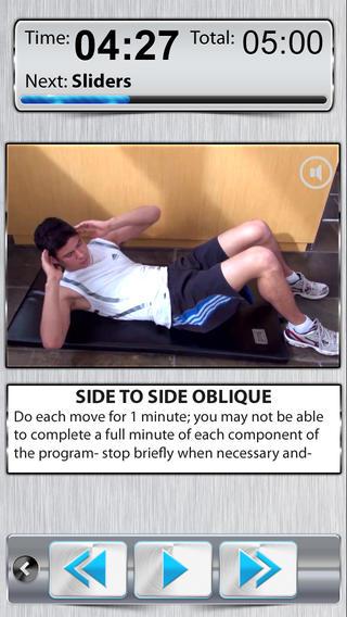 腹部运动 PRO HD截图1