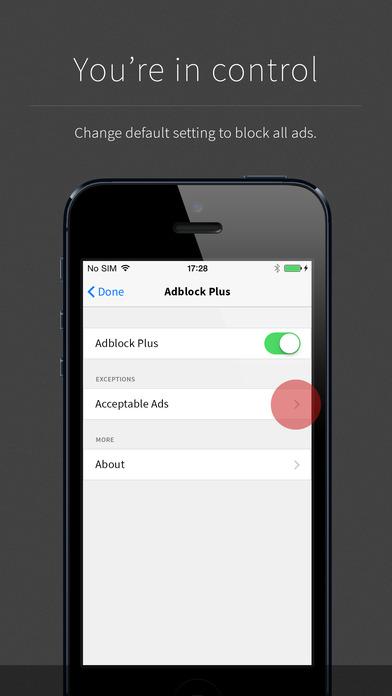 Adblock Plus (ABP)截图5