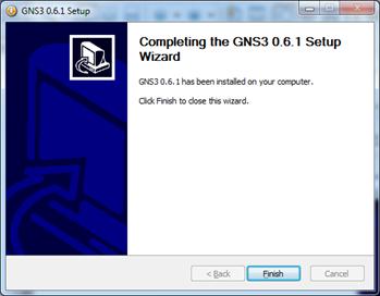 GNS3模拟器截图
