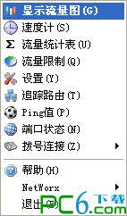 网络流量统计工具(NetWorx)LOGO