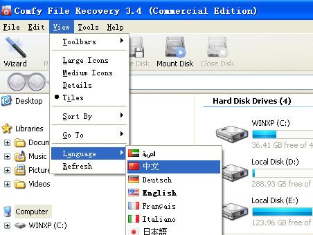 文件恢复软件(Comfy File Recovery)截图