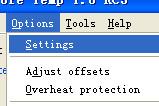CoreTemp(CPU数字温度传感器)截图