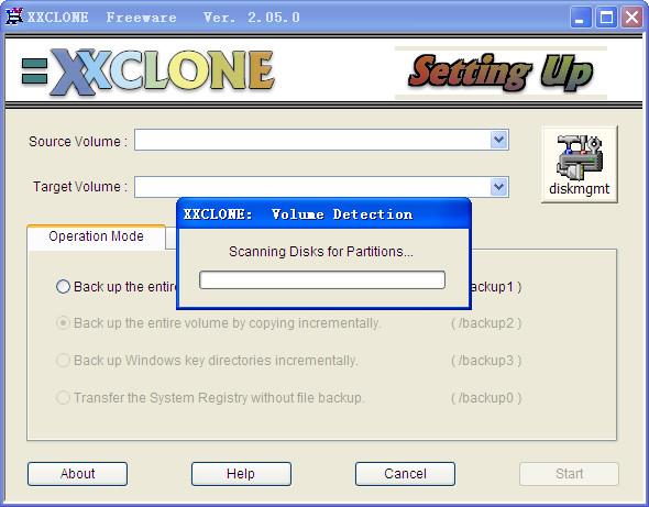系统移植软件(XXCLONE)