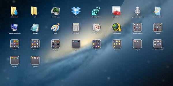 WinLaunch(仿苹果桌面启动工具)