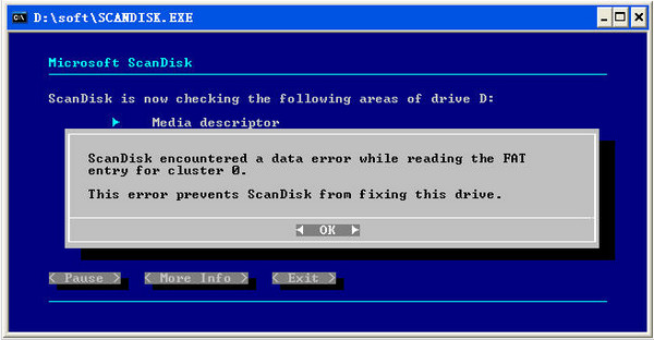 ScanDisk中文版(硬盘坏道修复工具)