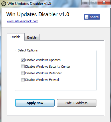 win10家庭版自動更新禁止工具(win updates disabler)