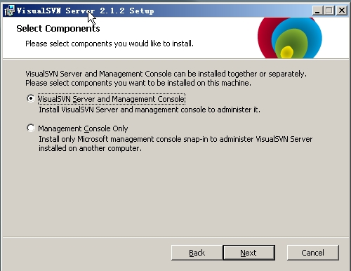 VisualSVN Server(集成SVN服务端工具)