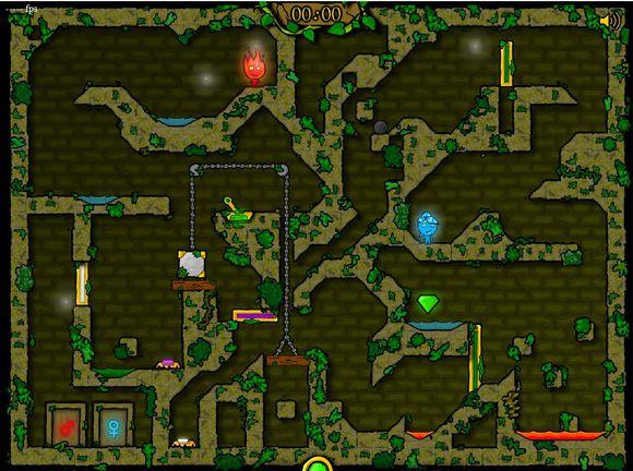 森林冰火人2无敌版截图