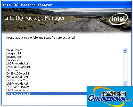 英特尔主板驱动 Intel Chipset Device SoftwareLOGO