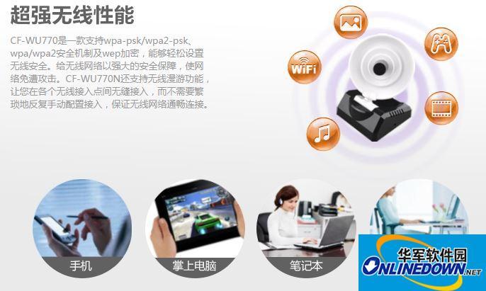 CF-WU770N无线网卡驱动程序