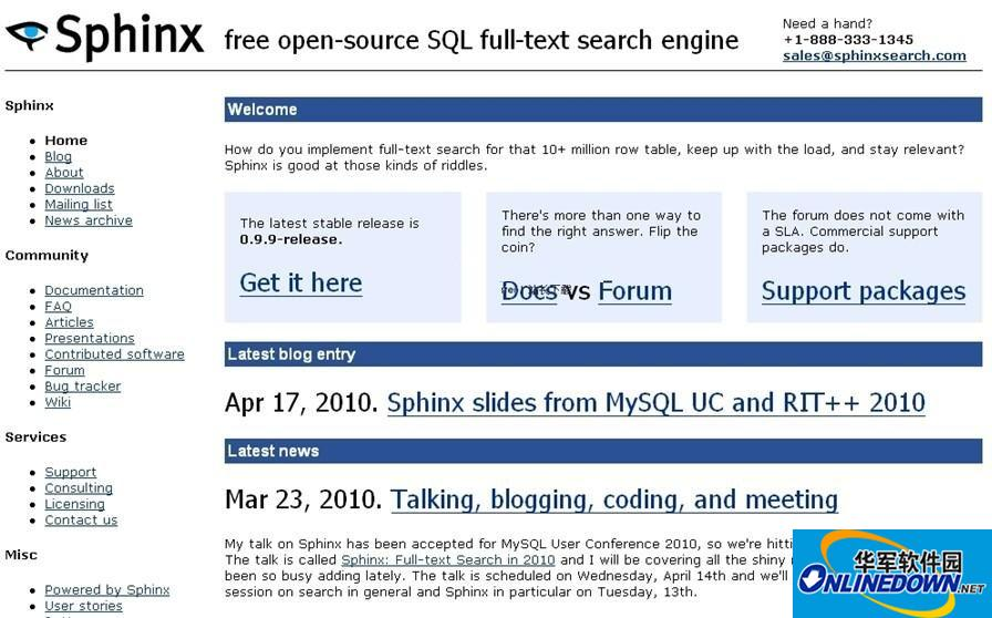 Sphinx全文检索引擎for Linux