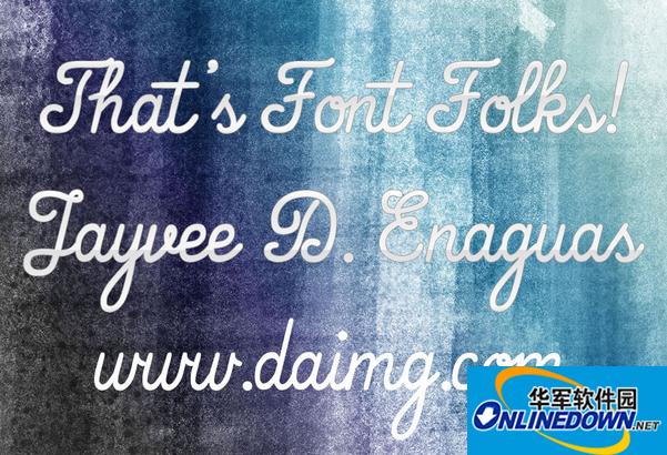 That\'s Font Folks!