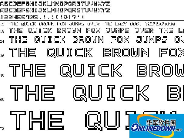Outline pixel 7