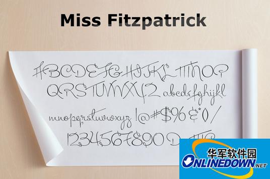 Miss Fitzpatrick