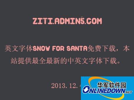 Snow For Santa