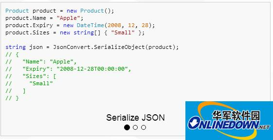 Json.Net(Newtonsoft.Json) 10.0.3 官方最新版