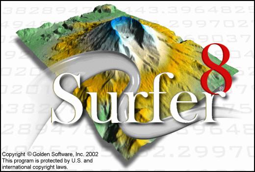 三维立体图制作软件(surfer)