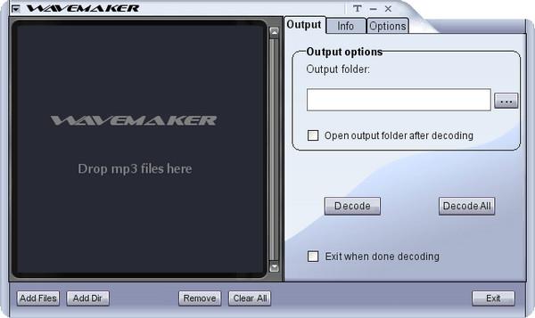 MP3转WAV工具(WaveMaker MP3 to WAV Converter)