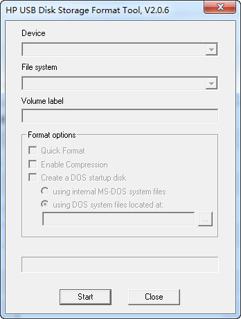 u盘低级格式化(preformat)